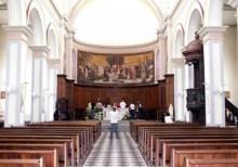 Intérieur Cathédrale de Saint-Denis La Réunion