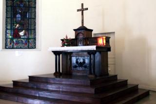 Autel Chapelle de l'Immaculée Conception.