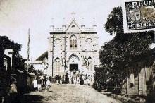 Église Saint-Jacques à Saint-Denis La Réunion.
