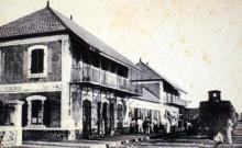 Gare de Saint-Denis de La Réunion.