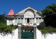 Maison Ponama rue Roland Garros Saint-Denis La Réunion.