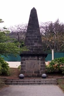Mausolée Anglais à La Redoute Saint-Denis de La Réunion.