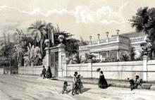 Musée Léon Dierx gravure de Roussin.