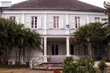 Villa du Département Saint-Denis façade Sud.