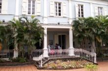 Villa du Département Saint-Denis façade Nord.