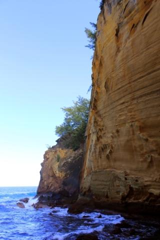 Sentier du Cap Jaune.