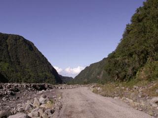 Piste sentier Roche Plate Rivière des Remparts Saint-Joseph La Réunion.