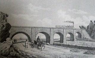 Pont de chemin de fer des Colimaçons Saint-Leu île de La Réunion.