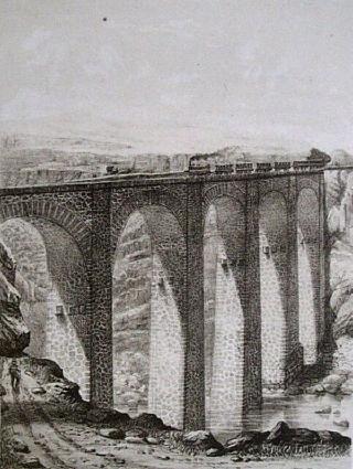 Pont de Chemin de Fer pont la Petite Ravine Saint-Leu.