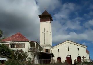 Église Saint-Christophe La Chaloupe Saint-leu La Réunion.