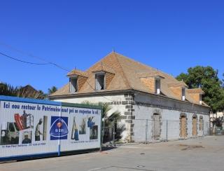 Ancien magasin du Roi, dit aussi Hôtel des Postes Saint-leu La Réunion.