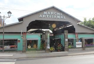 Marché artisanal de Saint-Leu.