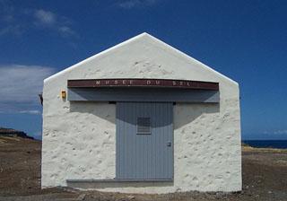 Musée du Sel à Saint-Leu île de La Réunion.