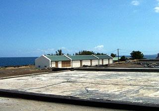 Musée du Sel à Saint-Leu La Réunion.