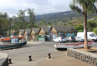 Port de plaisance de Saint-Leu La Réunion.