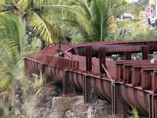 Aqueduc Ravine du Gol Saint-Louis La Réunion.