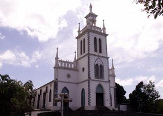 Notre Dame du Rosaire La Rivière Saint-Louis La Réunion