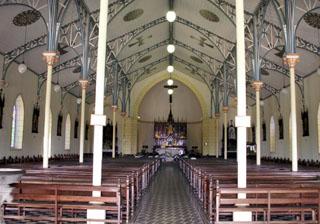 Église Notre Dame du Rosaire La Rivière Saint-Louis La Réunion