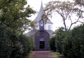 Chapelle Pointue Musée de Villèle île de La Réunion.