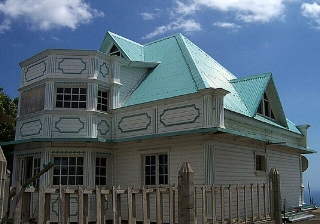 Maison au Bois de Nèfles.