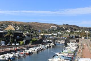Port de plaisance Saint-Gilles La Réunion.