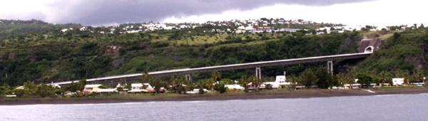 Viaduc de Saint-Paul La Réunion, Route des Tamarins