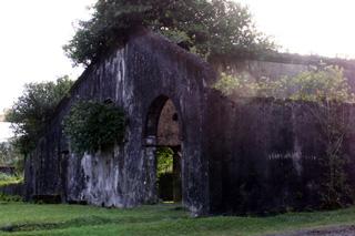 Ancienne sucrerie du Baril Saint-Philippe La Réunion.