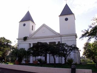 Église Saint-Paul à Saint-Pierre La Réunion.