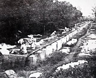 Lavoir de Casabona à Saint-Pierre.