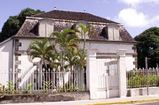 Maison Adam de Villiers à Saint-Pierre La Réunion.