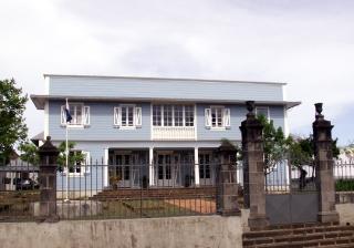 Maison Orré Saint-Pierre La Réunion. Résidence du préfet des TAAF.