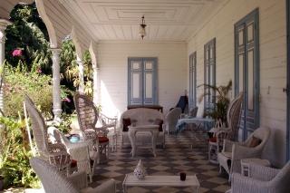 Varangue Maison Vallée Bois d'Olive Saint-Pierre La Réunion.