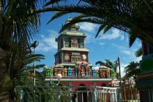 Temple Shri Maha Badra Kali Saint-Pierre La Réunion.