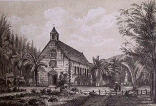 église de La Rivière des Pluies