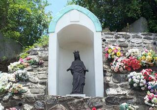 La Vierge Noire à La Rivière des Pluies