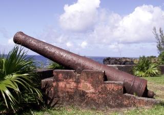 Canon à La Marine de Sainte-Rose