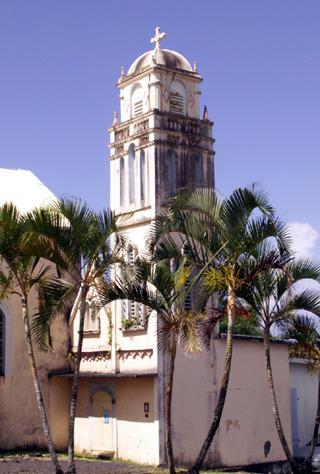 Notre Dame des Laves à Piton Sainte-Rose La Réunion