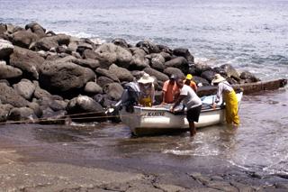 Pêcheurs Anse des Cascades