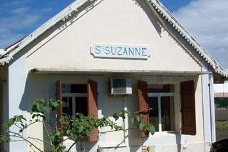 Ancienne gare ferroviaire Sainte-Suzanne île de La Réunion