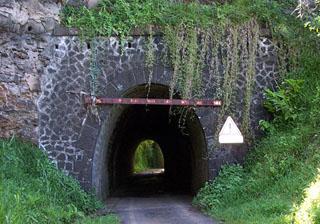 Tunnel ferroviaire Sainte-Suzanne île de La Réunion