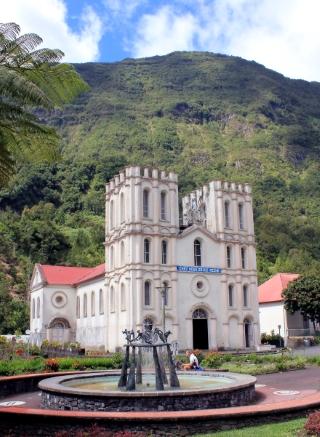 Église Notre Dame de l'Assomption à Salazie.