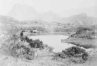 Mare à Poule d'Eau Salazie île de La Réunion.