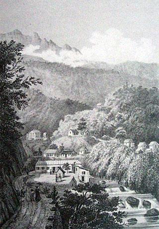 Thermes de Salazie Hell-Bourg La Réunion.