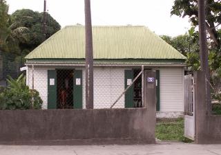 Case créole Bois d'Olive La Réunion.