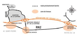 Déviation de Grand-Bois à La Réunion
