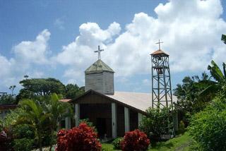 église de Bois Blanc commune de Sainte-Rose La Réunion