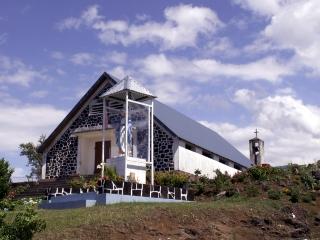 Chapelle Notre-Dame de Pontmain Jean Petit La Réunion