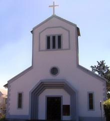Église du Brûlé commune de Saint-Denis La Réunion.