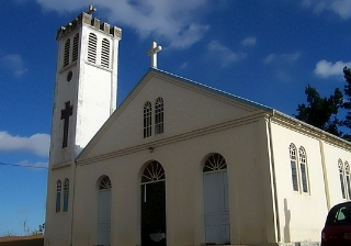 Église le Plate Saint-Leu île de La Réunion.