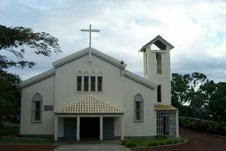 Église Ligne des Bambous La Réunion.